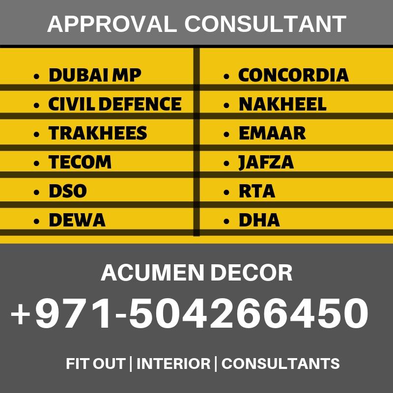 Dubai Approvals | Design Drawing Approval Dubai